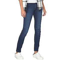 Dorothy Perkins - Washed indigo ashley straight jeans