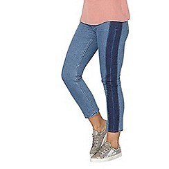 Dorothy Perkins - Fashion straight laser side panel jeans