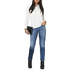 Dorothy Perkins - Laser patch fashion jeans