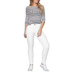 Dorothy Perkins - White frankie skinny jeggings