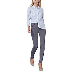 Dorothy Perkins - Grey premium 'bailey' jeans