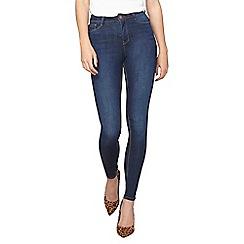 Dorothy Perkins - Tall indigo high waist 'bailey' skinny jeans