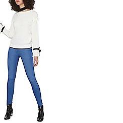 Dorothy Perkins - Tall fresh blue eden ultra soft jeggings