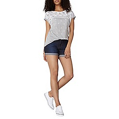 Dorothy Perkins - Indigo denim shorts