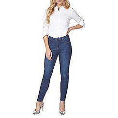 Dorothy Perkins - Mid wash shape and lift jeans