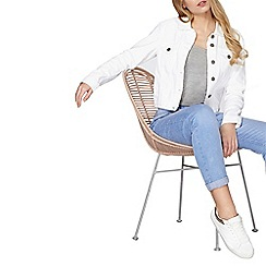 Dorothy Perkins - White denim jacket