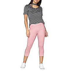 Dorothy Perkins - Dusky pink Eden cropped jeggings