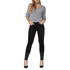 Dorothy Perkins - Wash black acid skinny jeans