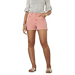 Dorothy Perkins - Pink denim shorts