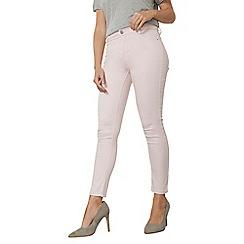 Dorothy Perkins - Ice pink frankie - super skinny jeans