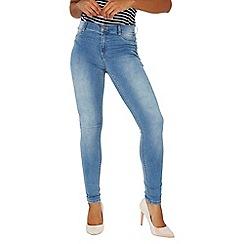 Dorothy Perkins - Midwash 'Frankie' super skinny jeans
