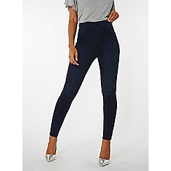 Dorothy Perkins - Indigo authentic high waist jeggings