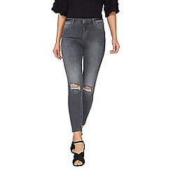 Dorothy Perkins - Grey graphite darcy- ankle grazer jeans