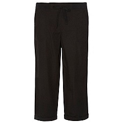 Dorothy Perkins - Tall black poplin trousers