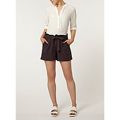 Dorothy Perkins - Raisin paperbag waist short