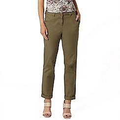 Dorothy Perkins - Khaki chino trousers