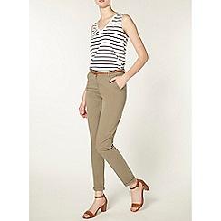 Dorothy Perkins - Tall khaki chino trousers