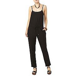 Dorothy Perkins - Black linen jumpsuit