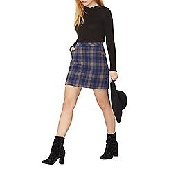 Dorothy Perkins - Check mini skirt