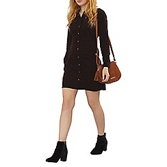 Dorothy Perkins - Fig cord western shirt dress
