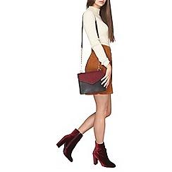 Dorothy Perkins - Tall tan cord skirt
