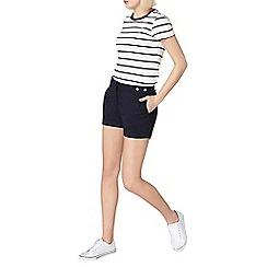 Dorothy Perkins - Navy poplin shorts