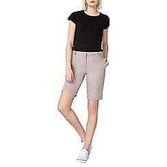Dorothy Perkins - Mink poplin knee shorts
