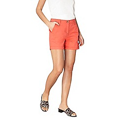 Dorothy Perkins - Tomato chino shorts
