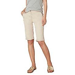 Dorothy Perkins - Tall stone chino knee shorts