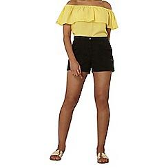 Dorothy Perkins - Black utility cargo shorts