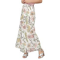 Dorothy Perkins - Petite floral maxi skirt