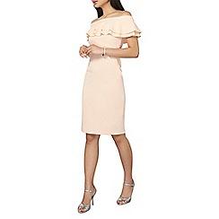 Dorothy Perkins - Petite blush bardot dress