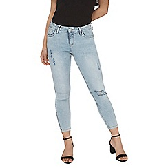 Dorothy Perkins - Petite stone wash 'darcy' ankle grazer jeans