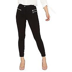 Dorothy Perkins - Petite black bengaline trousers