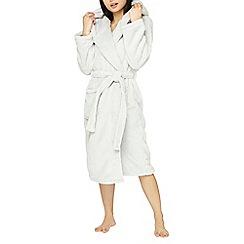 Dorothy Perkins - Petite grey super soft robe