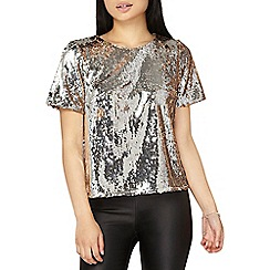 Dorothy Perkins - Petite all over sequin top