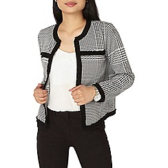 Dorothy Perkins - Petite check jacquard jacket