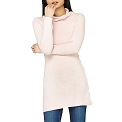 Dorothy Perkins - Petite pink cowl neck tunic