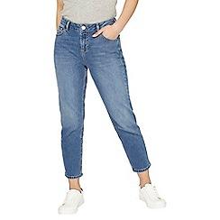 Dorothy Perkins - Petite midwash straight leg jeans