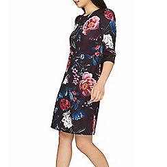 Dorothy Perkins - Petite multi coloured floral shift dress