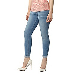 Dorothy Perkins - Petite bleach 'harper' jeans