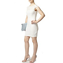 Dorothy Perkins - Petite ivory lace pencil dress
