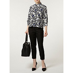 Dorothy Perkins - Petite blue floral shirt
