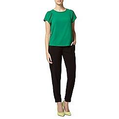 Dorothy Perkins - Petite black plain jogger trousers