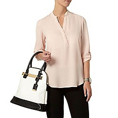 Dorothy Perkins - Petite roll sleeve shirt