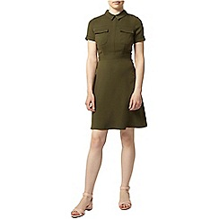 Dorothy Perkins - Petite khaki shirt dress
