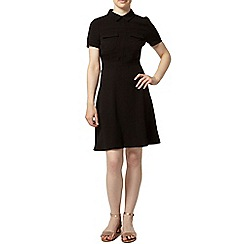 Dorothy Perkins - Petite black shirt dress