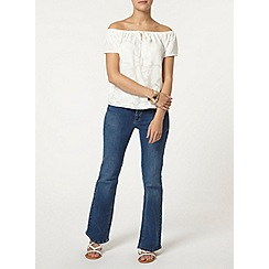Dorothy Perkins - Petite burnout gypsy top