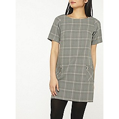 Dorothy Perkins - Petite multi coloured checked shift dress