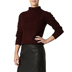 Dorothy Perkins - Petite purple cable jumper
